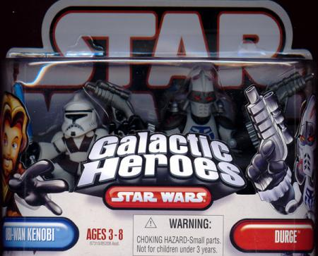 Obi-Wan Kenobi Durge Galactic Heroes