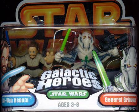 Obi-Wan Kenobi General Grievous Galactic Heroes