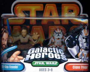 Obi-Wan Kenobi Orange Clone Trooper Galactic Heroes