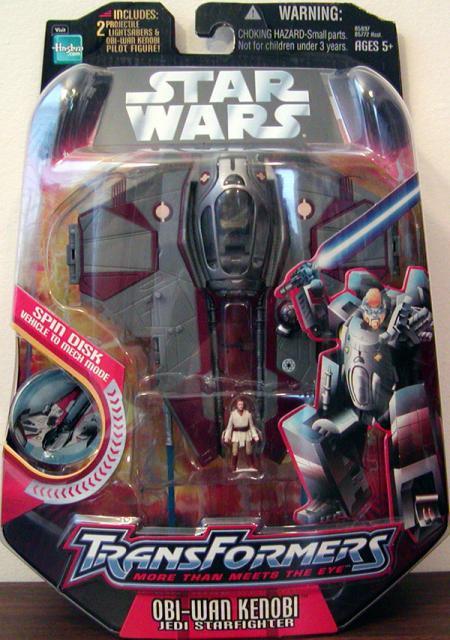 Obi-Wan Kenobi Jedi Starfighter Transformers