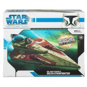 Obi-Wan Kenobis Delta Starfighter Clone Wars