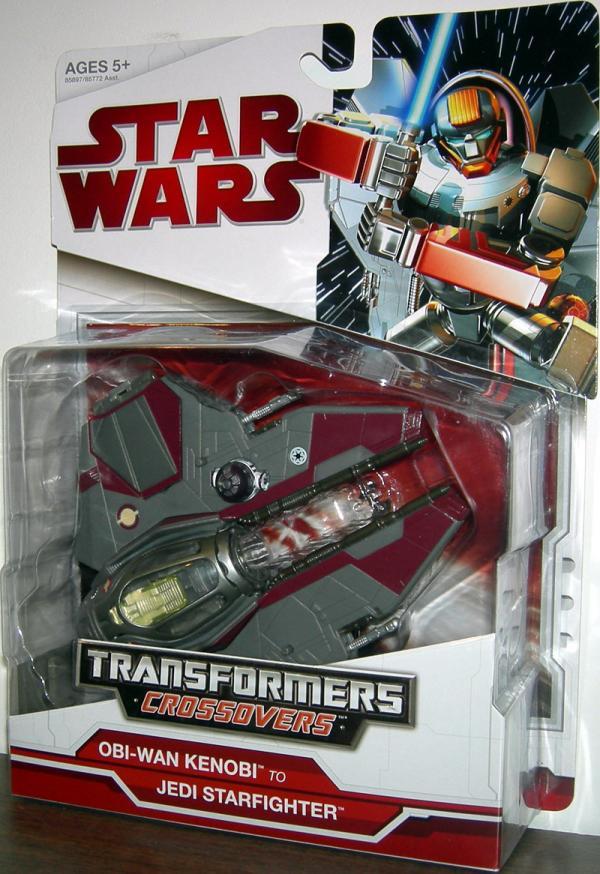 Obi-Wan Kenobi Jedi Starfighter Transformers Crossovers