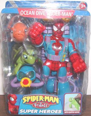Ocean Dive Spider-Man