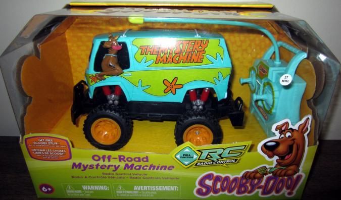 Off-Road Mystery Machine Radio Control Scooby-Doo vehicle