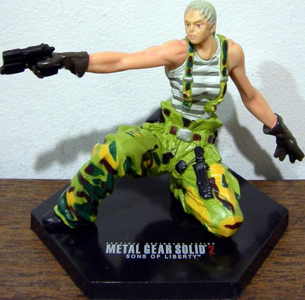Olga Gurlukovich Konami Metal Gear Solid action figure
