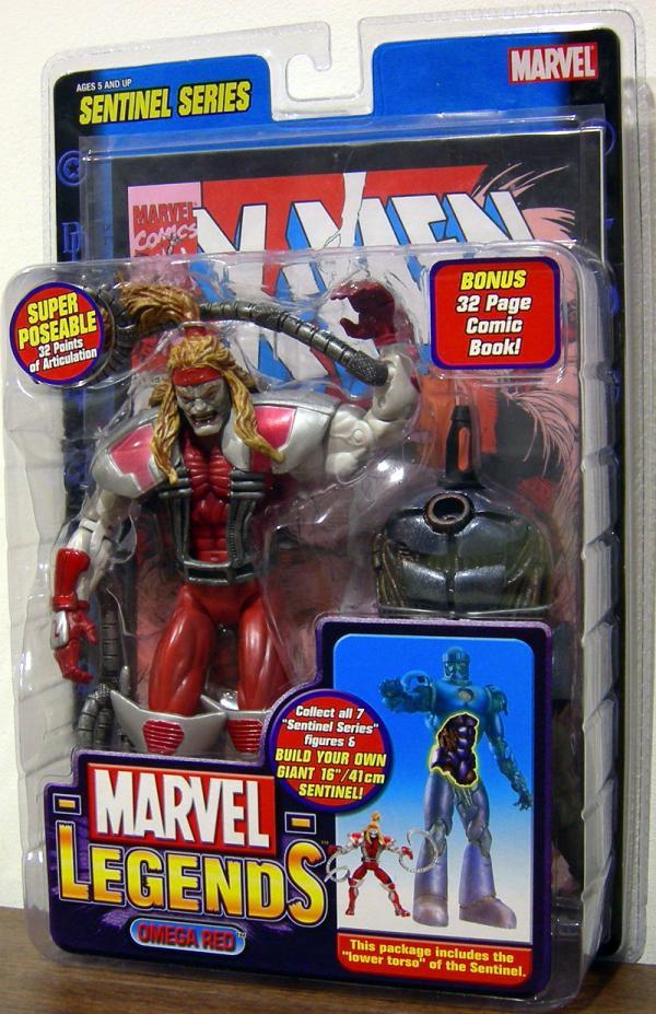 Omega Red Figure Marvel Legends Sentinel Series Toy Biz