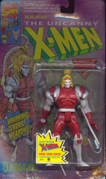 Omega Red Action Figure  Whipping Tendril Weapons X-Men