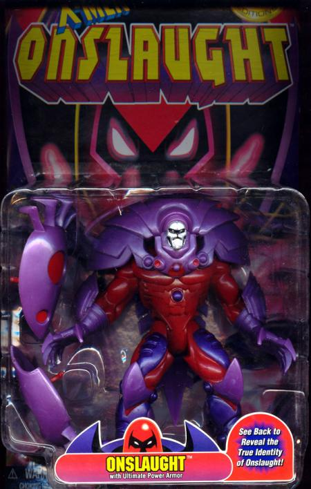Onslaught Action Figure X-Men Ultimate Power Armor Toy Bix