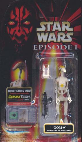 OOM-9 Figure Binoculars Blistered Star Wars Episode 1