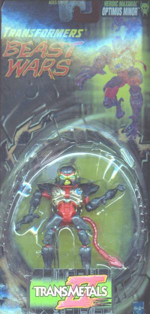 Optimus Minor Transformers Beast Wars action figure