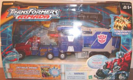 Optimus Prime Transformers Armada