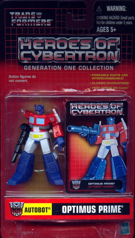Optimus Prime Heroes Cybertron