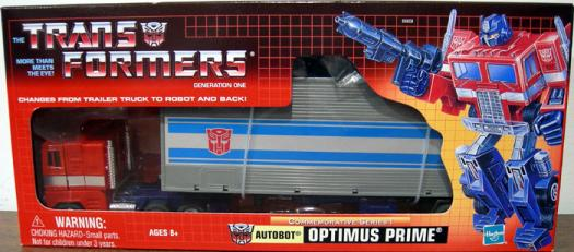 Optimus Prime Commemorative Series I