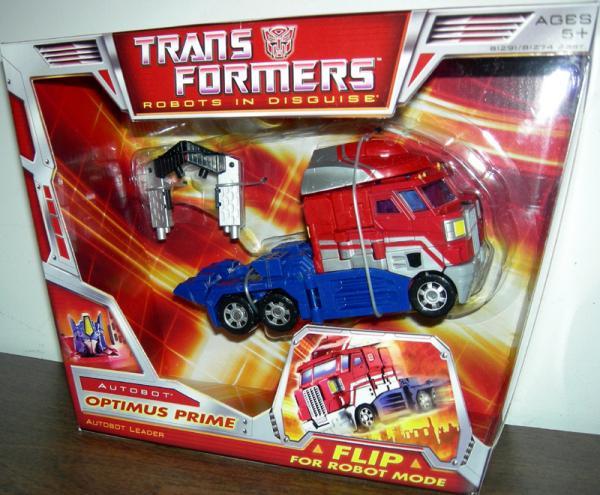 Optimus Prime Voyager Figure Classic Transformers