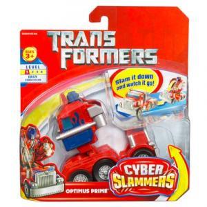 Optimus Prime Cyber Slammers
