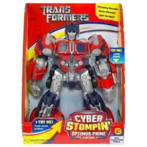 Optimus Prime Cyber Stompin Figure Transformers