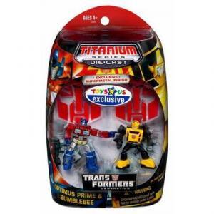 Optimus Prime Bumblebee Titanium Series Die-Cast