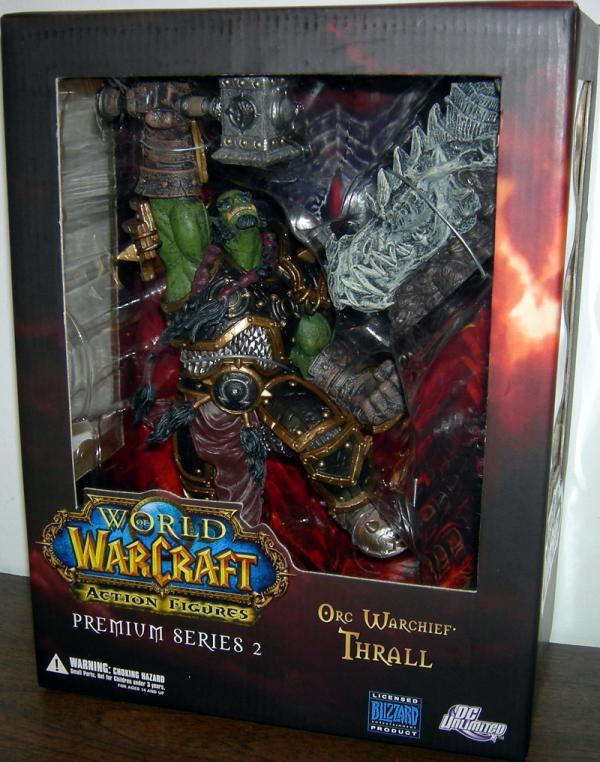 Orc Warchief Thrall Figure World Warcraft Premium Series 2