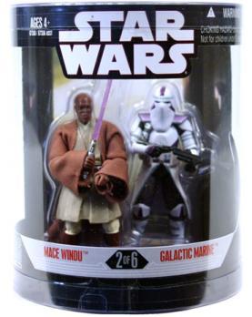 Mace Windu Galactic Marine Figures Order 66 Star Wars Target Exclusive
