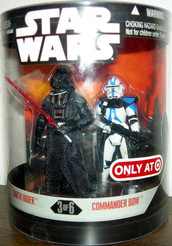 Darth Vader Commander Bow Figures Order 66 Star Wars