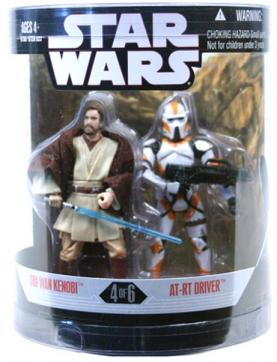 Obi-Wan Kenobi AT-RT Driver Figures Order 66 Target Exclusive