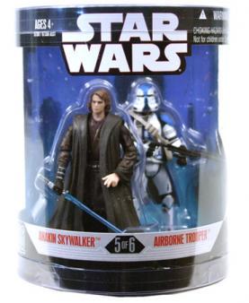 Anakin Skywalker Airborne Trooper Figures Order 66 Star Wars