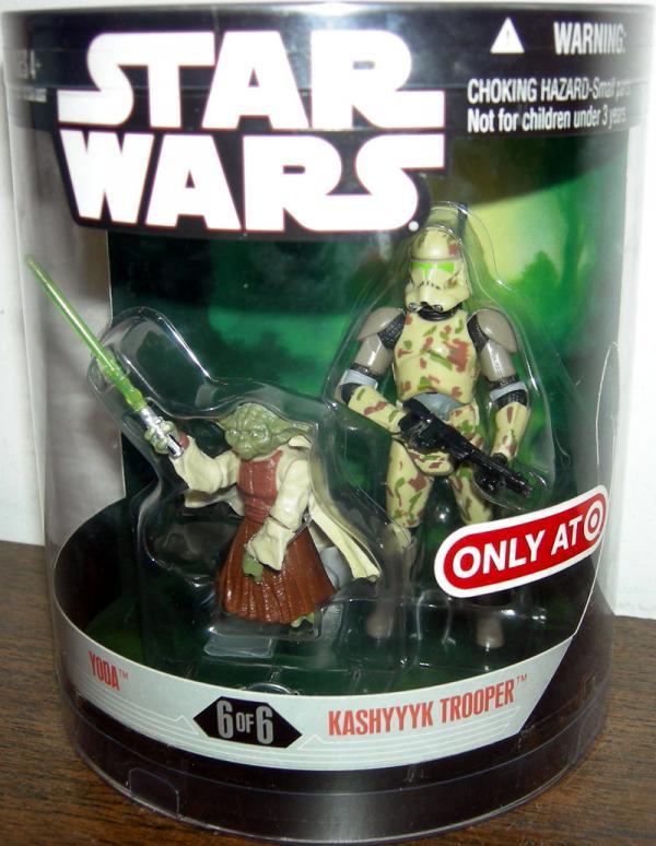Yoda Kashyyyk Trooper Order 66 Star Wars Target action figures