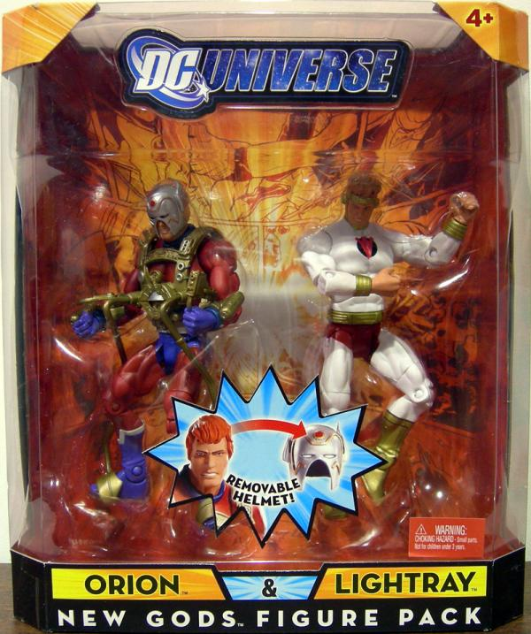 Orion Lightray DC Universe New Gods Figure Pack action figures