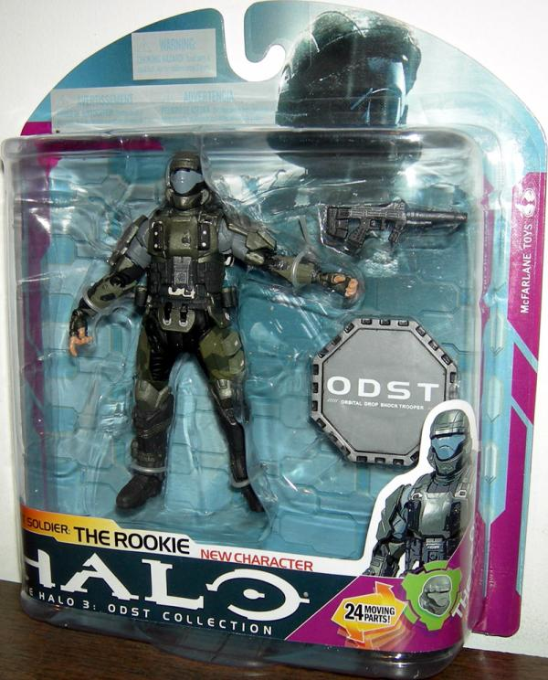 ODST Soldier The Rookie Action Figure Halo 3 Series 6