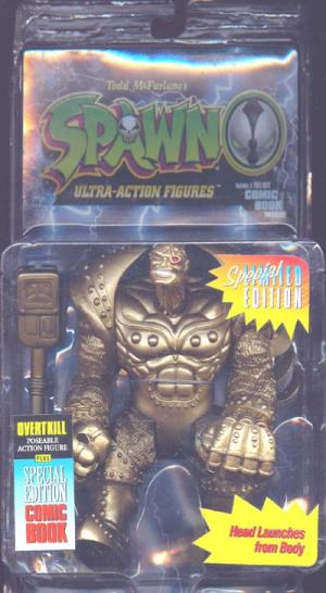 Overtkill Gold Spawn action figure