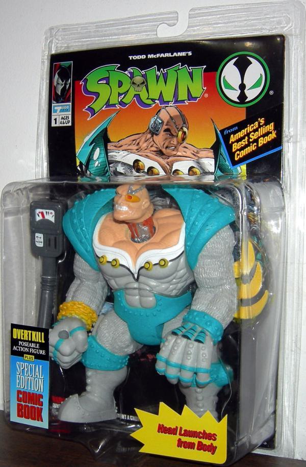 Overtkill Figure Spawn Series 1 Todd McFarlane Toys