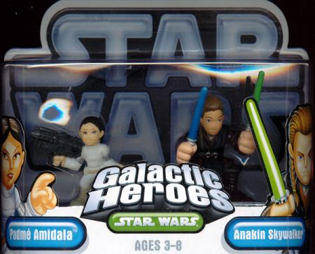 Padme Amidala Anakin Skywalker Galactic Heroes