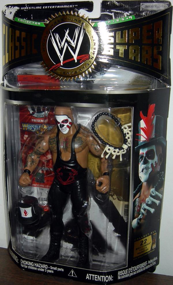 Papa Shango Figure WWE Classic SuperStars Series 9