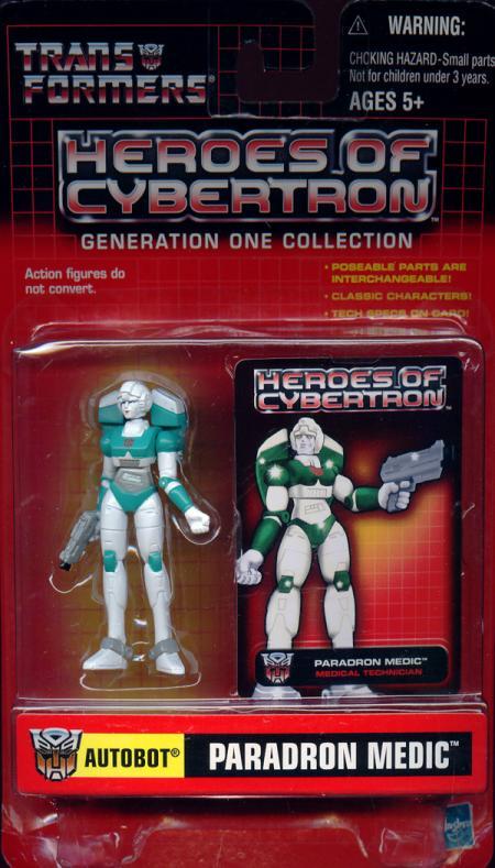 Paradron Medic Autobot