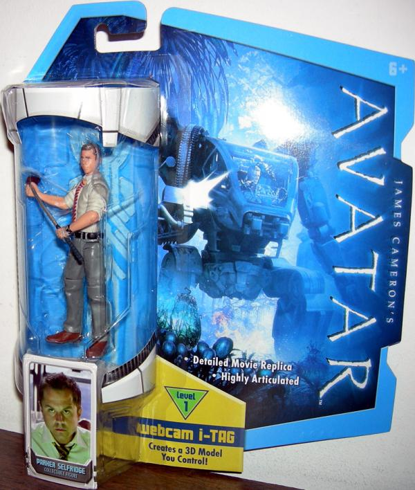 Parker Selfridge Avatar Action Figure Mattel
