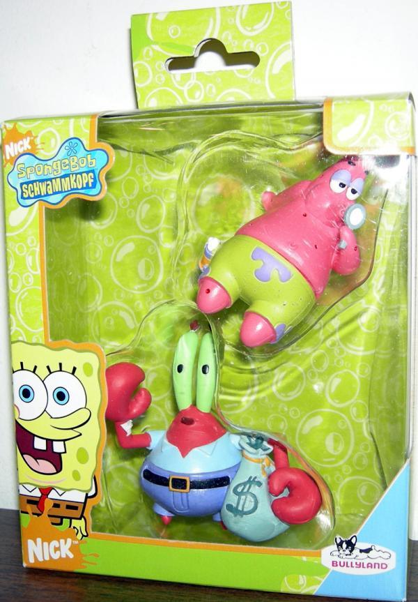 Patrick Star Mr Krabs 2-Pack