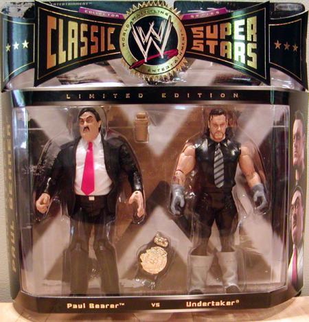 Paul Bearer vs Undertaker 2-Pack