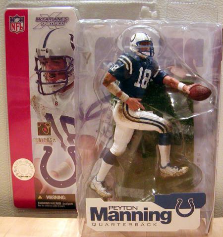 Peyton Manning series 4, blue jersey