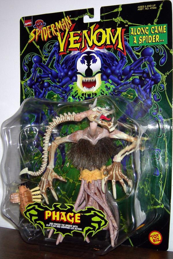 Phage Spider-Man Venom action figure