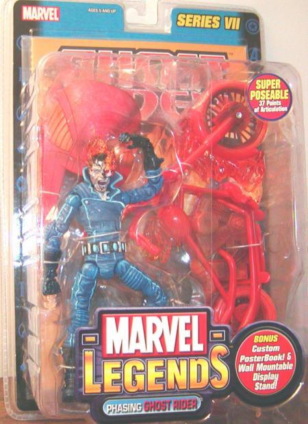 Phasing Ghost Rider Marvel Legends