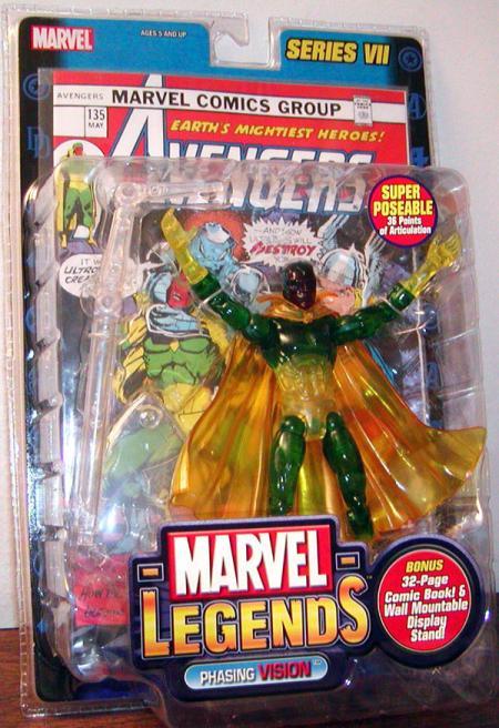 Phasing Vision Marvel Legends