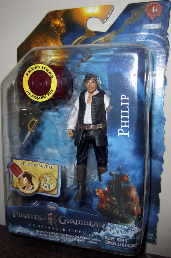 Philip Stranger Tides Pirates Caribbean action figure