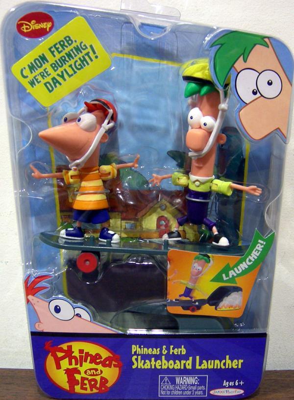 Phineas Ferb Skateboard Launcher
