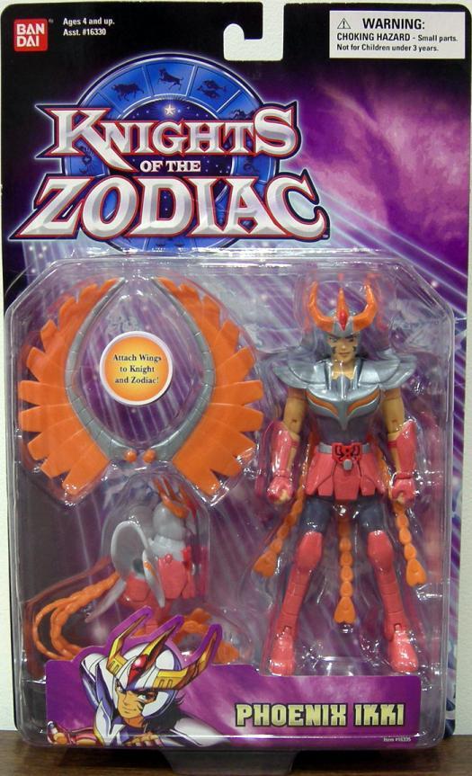 Phoenix Ikki Action Figure Knights of the Zodiac Bandai
