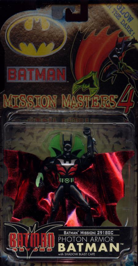 Photon Armor Batman Mission Masters 4 action figure