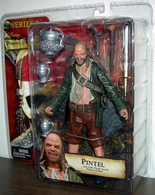Pintel Curse Black Pearl Series 2 PIrates Caribbean action figure