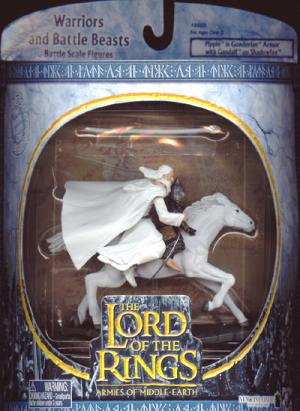 Pippin Gondorian Armor Gandalf Shadowfax Battle Scale