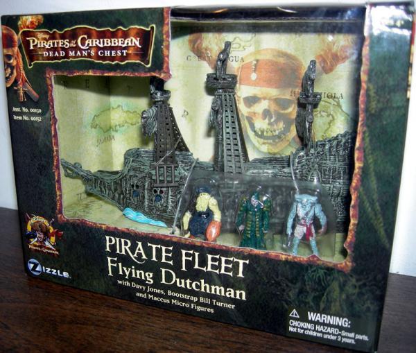 Pirate Fleet Flying Dutchman Pirates Caribbean Dead Mans Chest