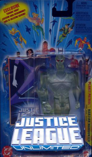 Martian Manhunter Planet Patrol action figure