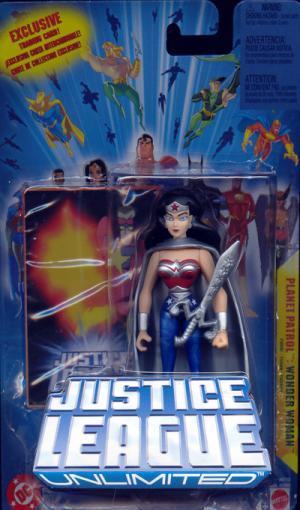 Wonder Woman Planet Patrol Justice League Unlimited action figure
